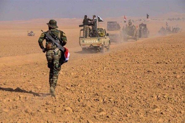 عملیات ضد تروریستی نیروهای حشد شعبی در استان دیالی