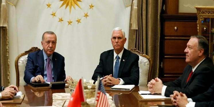 واکنش ها به توافق آمریکا و ترکیه برای برقراری آتش بس در شمال سوریه
