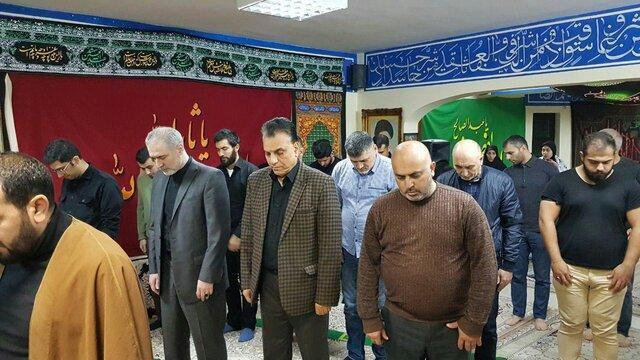 مراسم اربعین حسینی در بلاروس برگزار گردید