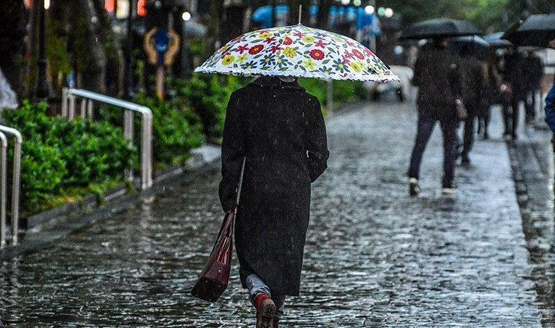 آغاز موج جدید بارش ها از امروز تا 13 آبان ، سه شنبه آسمان کشور آفتابی می شود