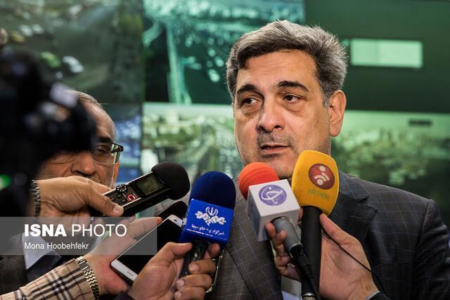بازدید شهردار تهران از گذر نوآوری در میدانگاه هفت تیر