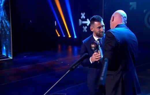 رای مسی در جایزه بهترین های فیفا لو رفت