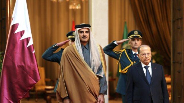 دعوت میشل عون از امیر قطر برای سفر به لبنان