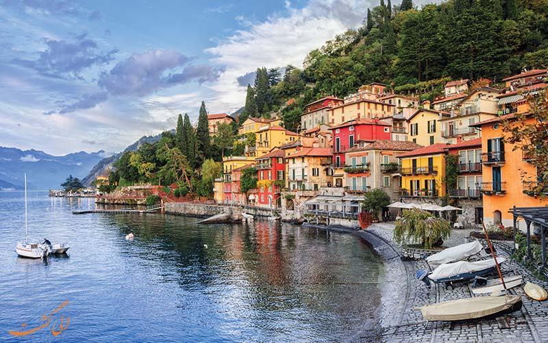 دریاچه کومو، سومین دریاچه بزرگ ایتالیا