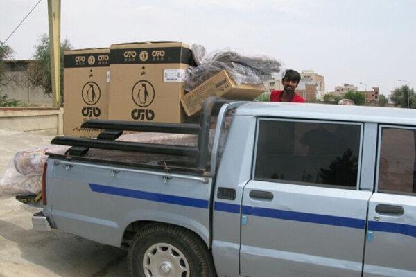 توزیع 940 بسته حمایتی در مناطق سیل زده