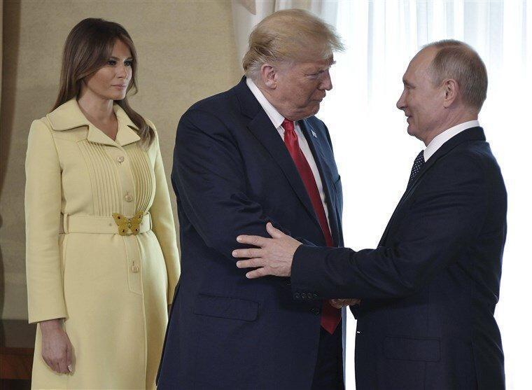پوتین در پیغام سال نو بار دیگر ترامپ را برای ملاقات از مسکو دعوت کرد