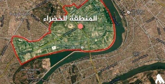 شلیک موشک به نزدیک سفارت آمریکا در بغداد، آژیر خطر سفارت (