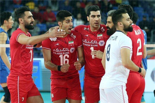 برنامه بازی های تیم ملی والیبال ایران در المپیک