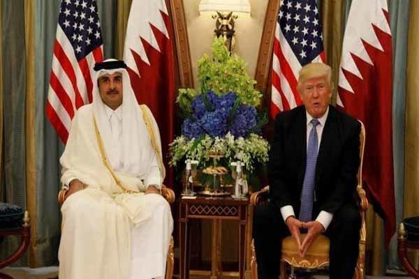 دونالد ترامپ با امیر قطر درباره افغانستان تبادل نظر کرد