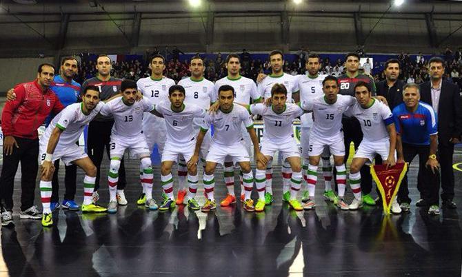 تیم ملی فوتسال در تکاپوی کسب سیزدهمین قهرمانی آسیا
