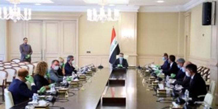 ملاقات نخست وزیر مکلف عراق با سفرای کشورهای عضو اتحادیه اروپا