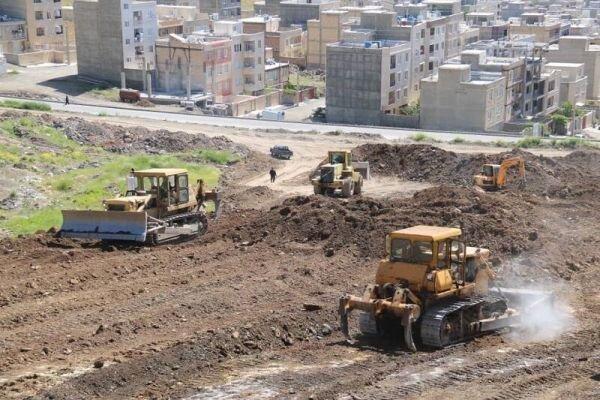 شروع ساخت پارک 20 هکتاری در دگایران سنندج