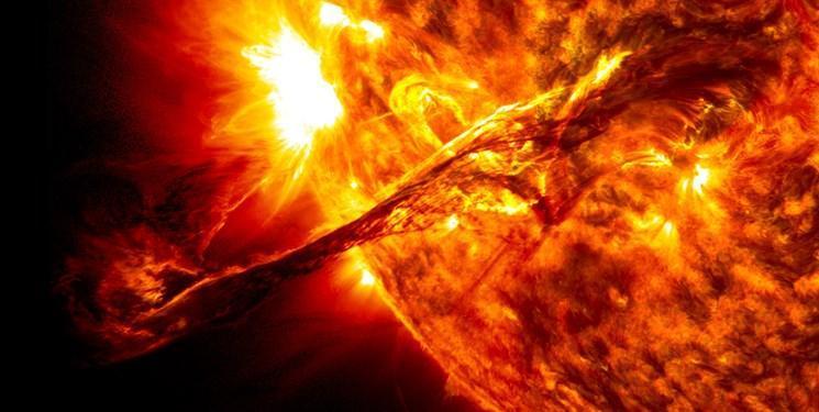 تلسکوپی که طوفان خورشیدی را ردیابی می کند