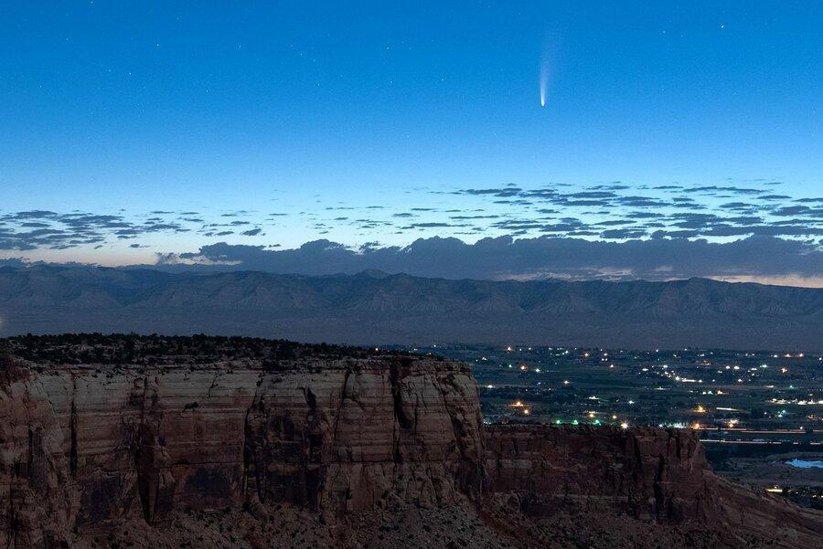 ستاره دنباله داری تازه کشف شده ای از کنار زمین عبور می نماید