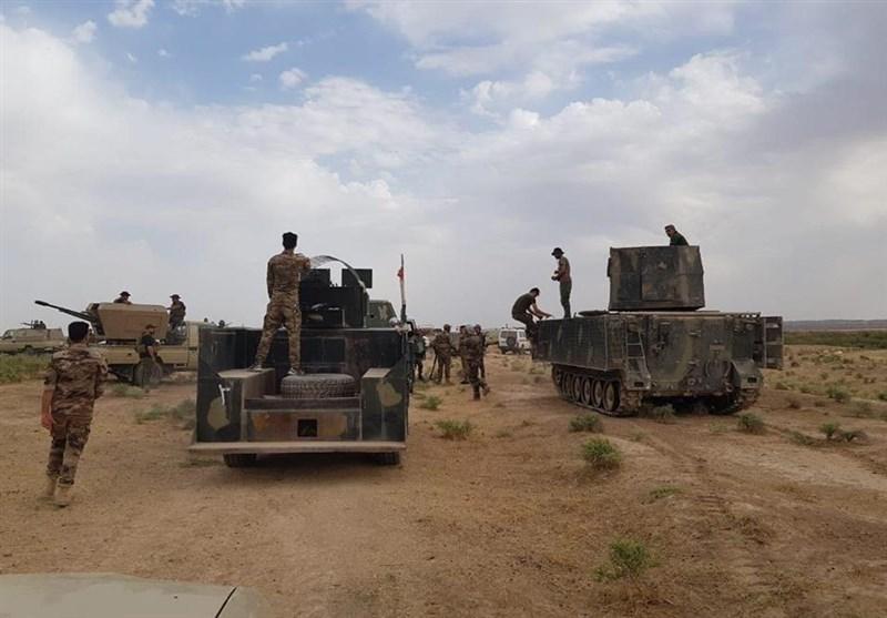 مقابله حشد شعبی با نفود داعش به جنوب سامراء، دستگیری مسئول اطلاع رسانی داعش در کرکوک