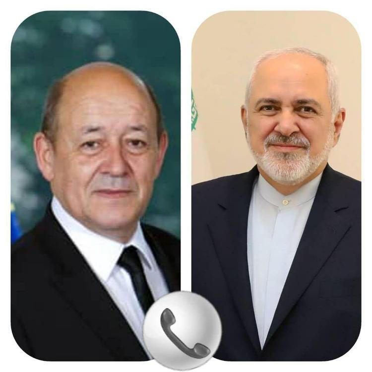 رایزنی وزیران امور خارجه ایران و فرانسه