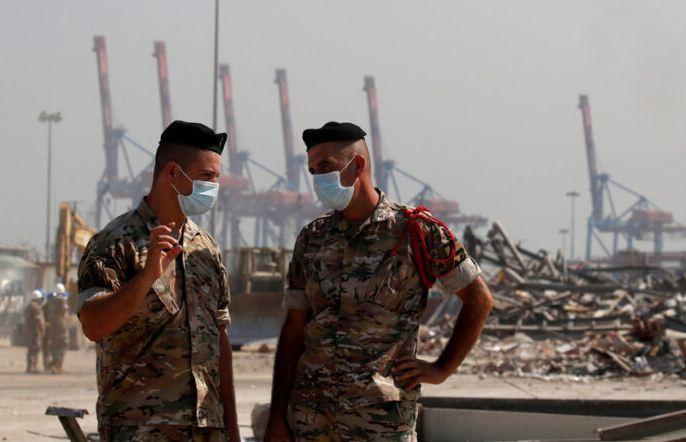 ارتش لبنان: مواد منفجره یافت شده در بندر بیروت معدوم سازی شد