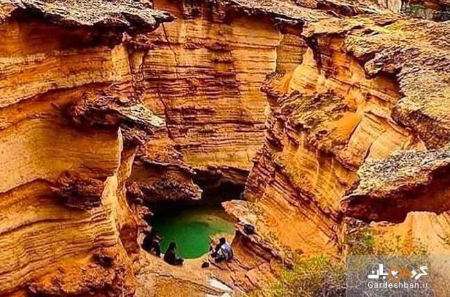 تنگه حیرت انگیز چاهکوه در روستای چاهوی قشم، تصاویر