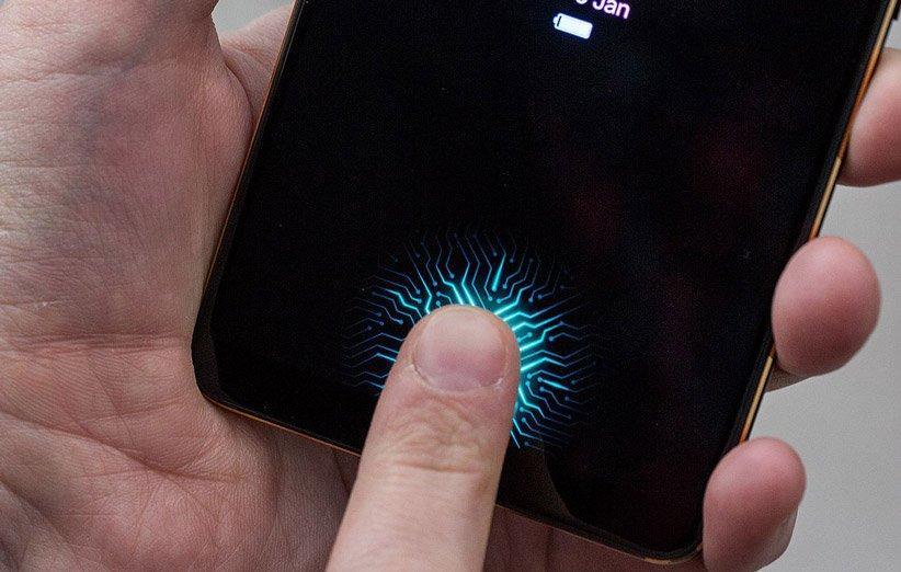 حسگر اثر انگشت زیر نمایشگر چگونه کار می نماید؟