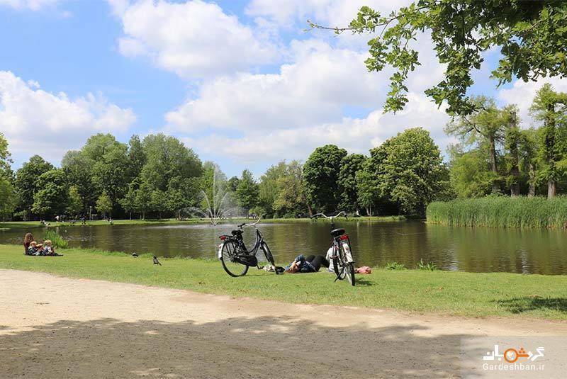 فوندل پارک آمستردام؛ معروف&zwnjترین پارک شهری هلند، عکس