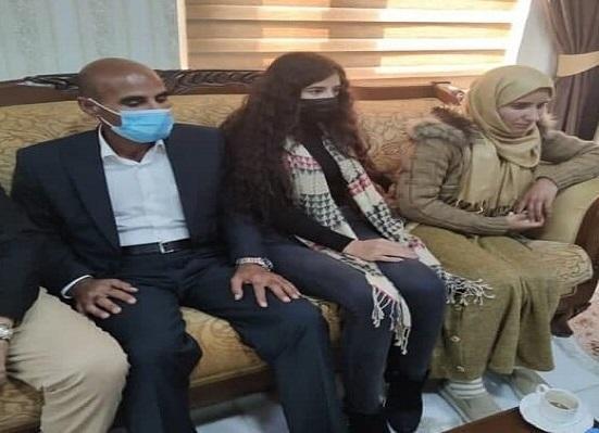 آزادی یک اسیر زن ایزدی از دست گروه تروریستی داعش