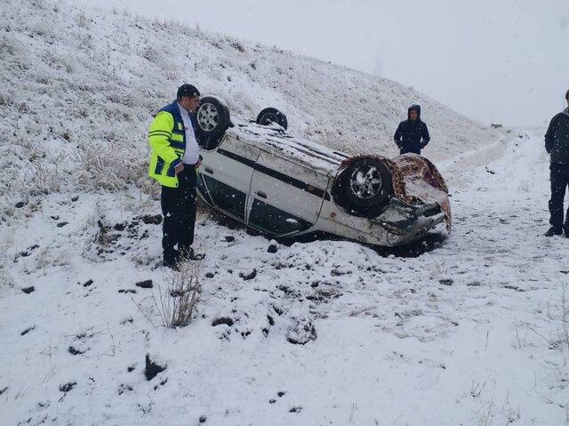 سانحه رانندگی در محور مراغه-هشترود 3 مصدوم برجای گذاشت