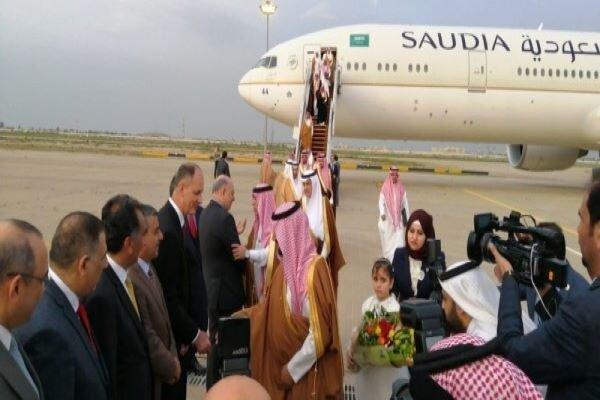 هیأتی از عربستان سعودی وارد بغداد شد