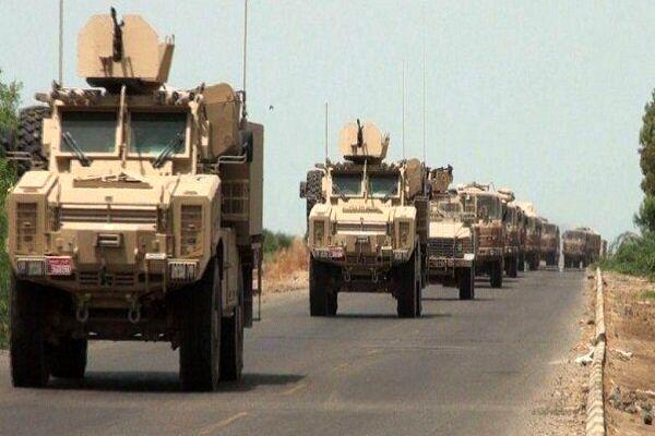 کاروان لجستیک آمریکا در بغداد مورد هدف نهاده شد