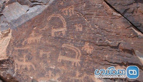 یک مجموعه سنگ نگاره جدید در استان مرکزی کشف شد