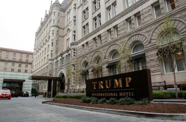 اقدام نجومی هتل ترامپ در روز تحلیف بایدن!