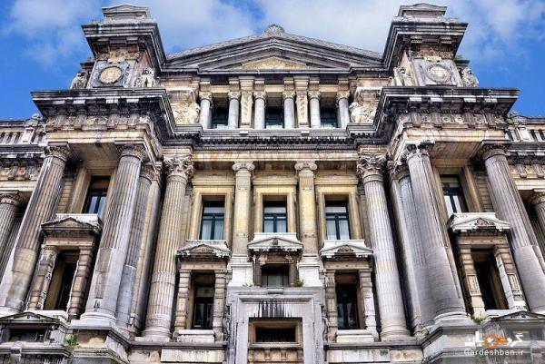 ساختمان غول پیکر کاخ عدالت بروکسل
