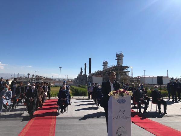 پالایشگاه بیدبلند خلیج فارس رویای 110 ساله صنعت نفت را محقق کرد