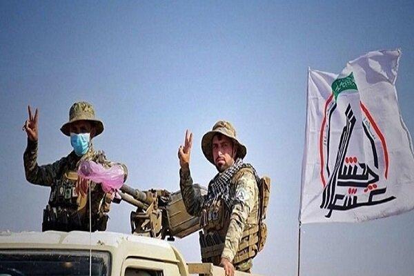 تحقق اهداف عملیات ثأر الشهداء حشد شعبی در شرق صلاح الدین