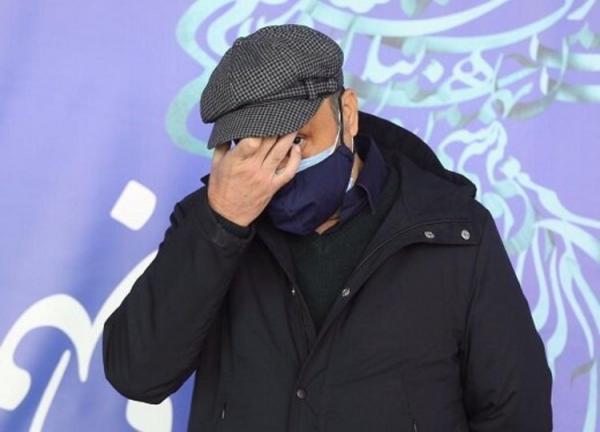 (تصاویر) رضا عطاران، سر در گریبان و غمگین