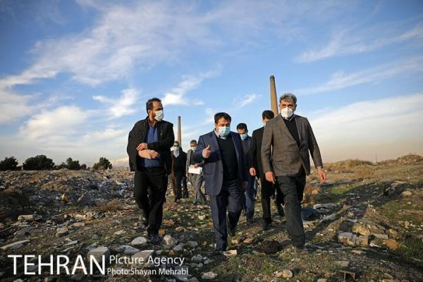 بازدید شهردار تهران از پروژه های منطقه 19