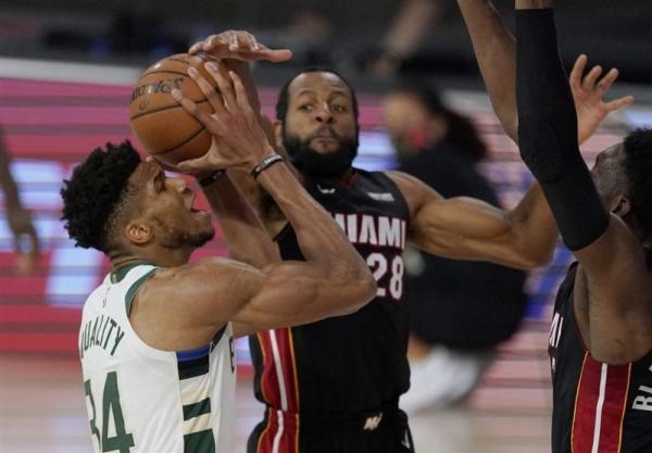 لیگ NBA، پیروزی باکس با درخشش یانیس، گلدن استیت مغلوب اورلاندو شد