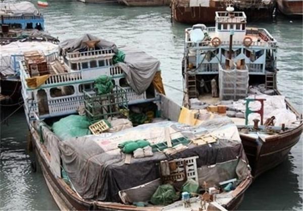 توقیف 2 کشتی حامل کالای قاچاق در ماهشهر
