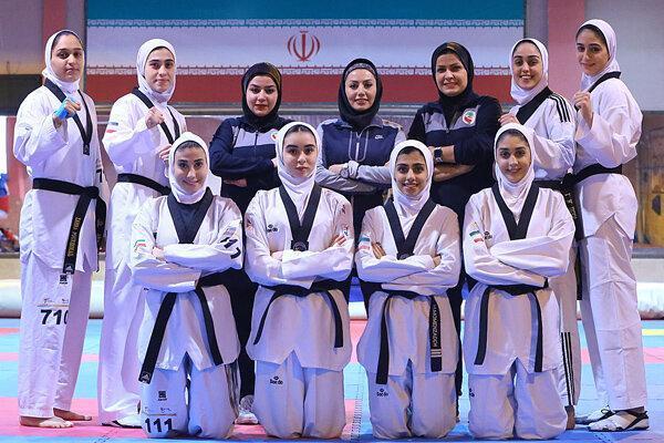 دختران تکواندوکار ایران 6 مدال طلا، نقره و برنز کسب کردند