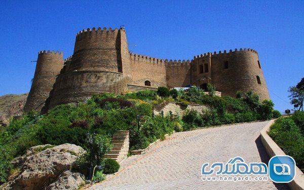 سند قلعه فلک الافلاک به نام میراث فرهنگی صادر شد