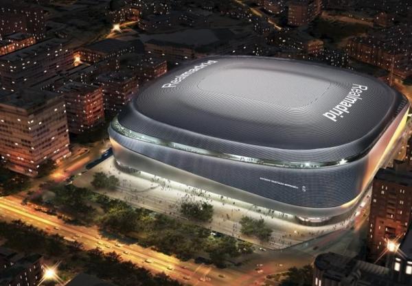 هزینه نجومی بازسازی استادیوم سانتیاگوبرنابئو روی دست باشگاه رئال مادرید