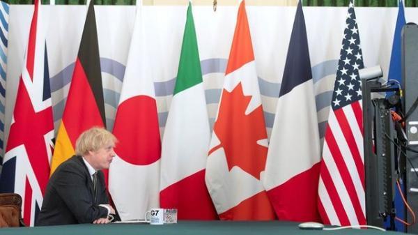 انگلیس میزبان نخستین نشست وزرای خارجه گروه 7 از زمان کرونا