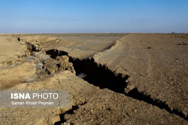 فعالیت گسل ها عامل اصلی فرونشست زمین در دشت گلپایگان