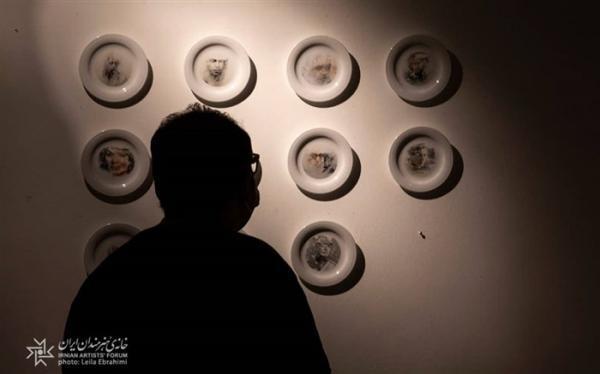 افتتاح دومین سالانه نمایشگاه کاربردی های معناگرا در خانه هنرمندان ایران