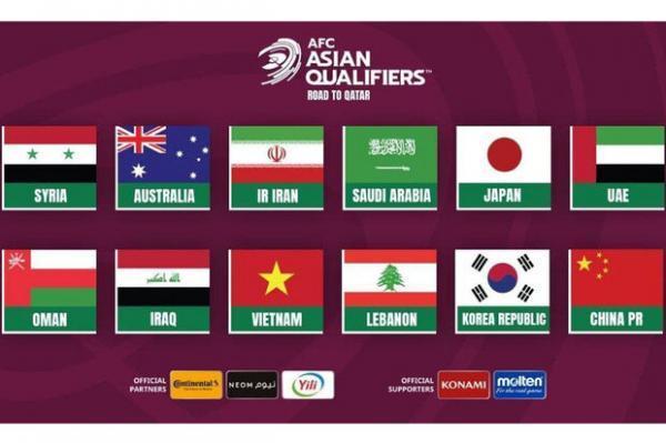 حریفان تیم ملی فوتبال ایران معین شدند، گروه دوم سخت و دشوارتر