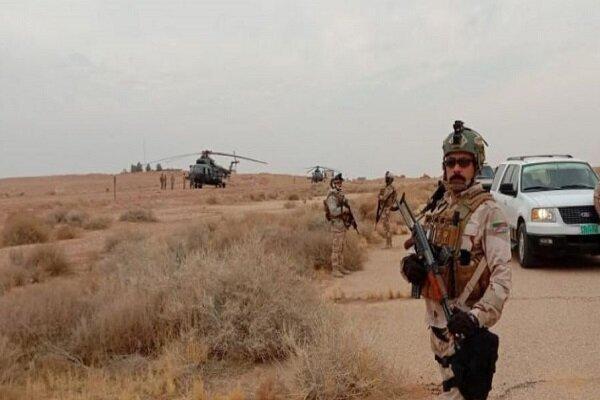 عملیات ضد تروریستی ارتش عراق، کشف و ضبط تسلیحات تکفیری ها
