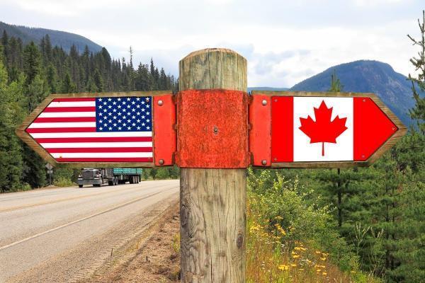 مقاله: مرزهای کانادا و آمریکا تا یک ماه آینده به روی هم باز خواهد شد