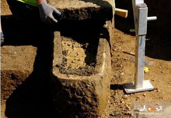 کشف تابوت تاریخی رومی در انگلستان