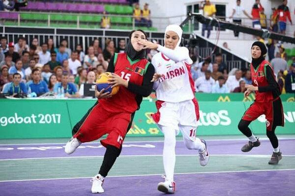 تیم بسکتبال سه نفره بانوان مقابل تایلند بازنده شد